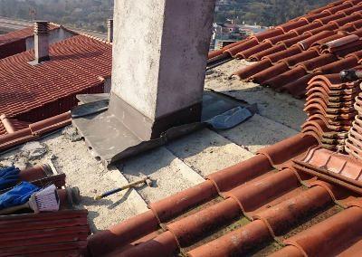 Reparacion de humedades en chimenea en Ourense